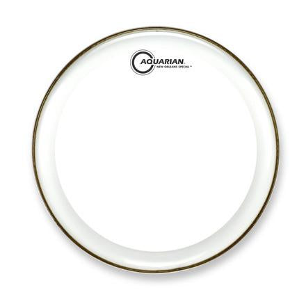 Aquarian - New Orleans Special Series Single Ply Clear Snare Drum Heads-Percussion-Aquarian-Music Elements