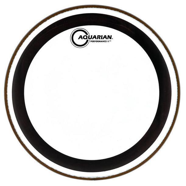 Aquarian - Performance II Series Clear Batter Drum Heads-Percussion-Aquarian-Music Elements