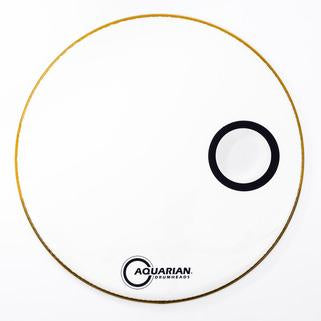 Aquarian - Ported Bass Series Resonant Bass Drum Heads-Percussion-Aquarian-Music Elements