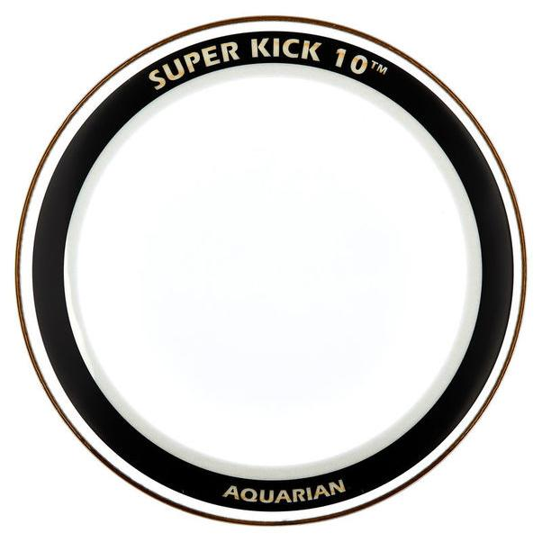 Aquarian - Super Kick 10 Series Clear Batter Bass Drum Heads-Percussion-Aquarian-Music Elements