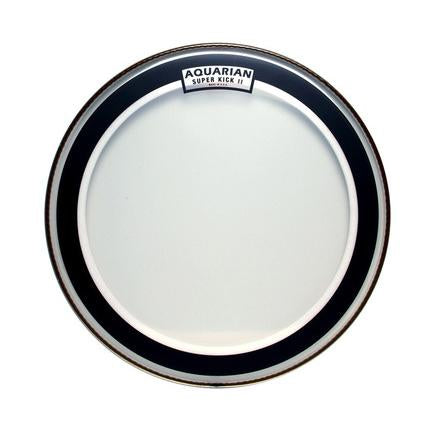 Aquarian - Super Kick II Series Single-Ply Clear Batter Bass Drum Heads-Percussion-Aquarian-Music Elements