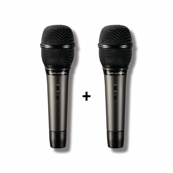 Audio-Technica - [Bundle] Classic Condensor Duo (2x ATM710a Artist Series Condenser Vocal Microphone)