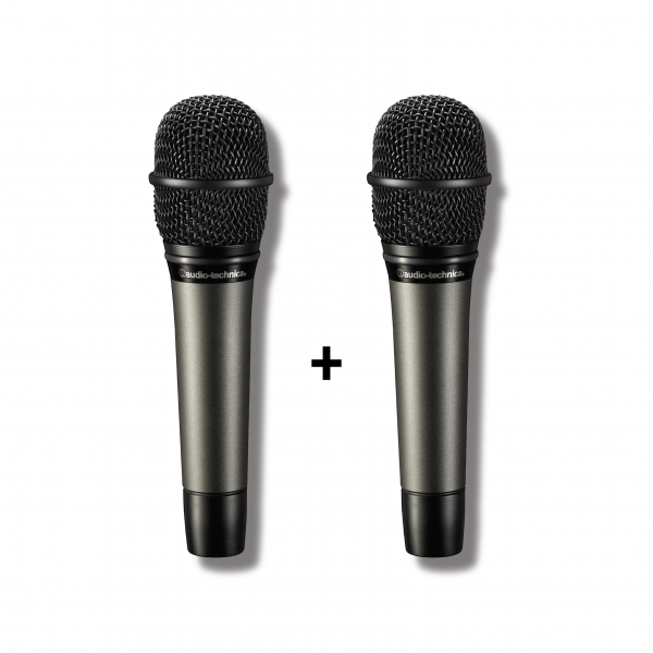 Audio-Technica - [Bundle] Classic Dynamic Duo (2x ATM610a Hypercardioid Dynamic Vocal Microphone)