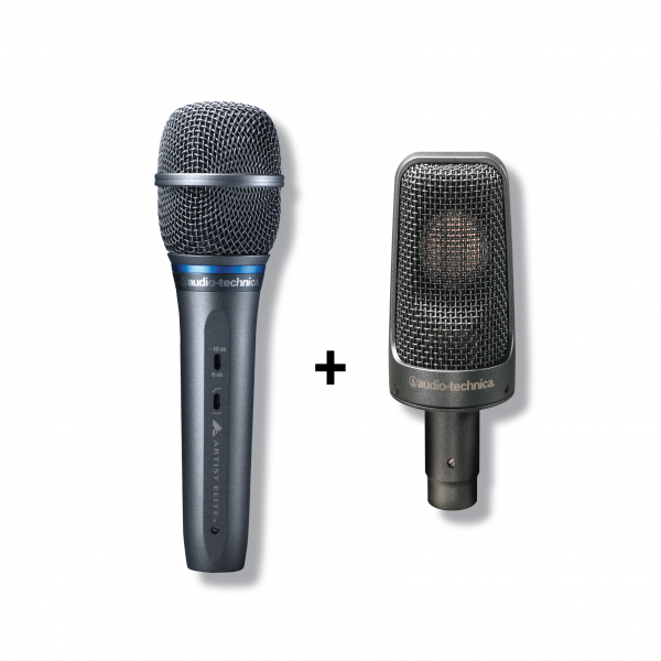Audio-Technica - [Bundle] Grand Artiste Promotion (AE3300 Vocal Microphone + AE3000 Condenser Microphone)
