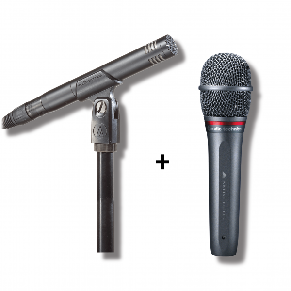 Audio-Technica - [Bundle] Popular Artist Promotion (AT2031 Vocal Microphone + AE6100 Condenser Microphone)