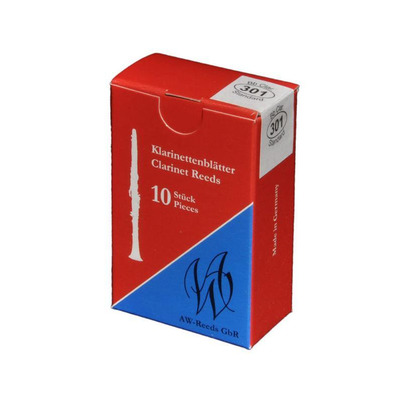 AW Reeds - 301 Standard Bb/A Clarinet Reeds-Reed-AW Reeds-Music Elements