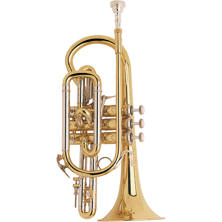 Bach - Model 184ML Stradivarius - Bb Cornet-Cornet-Bach-Music Elements