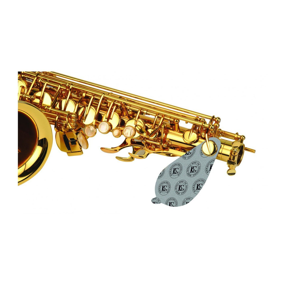 BG France - Microfiber Pad Dryer for Saxophones-Accessories-BG France-Music Elements