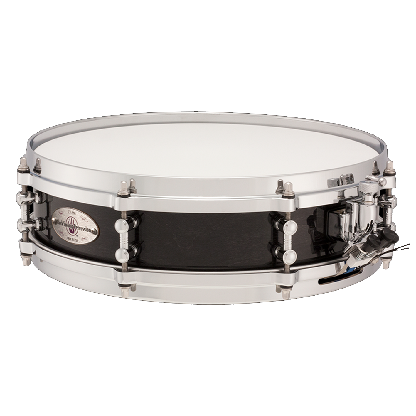 "Black Swamp - 3.5"" x 13"" 7-Ply Maple Mercury Series Snare Drum-Percussion Accessories-Black Swamp-Music Elements"