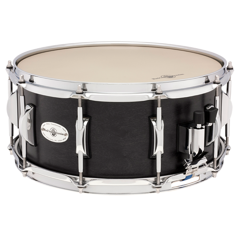 "Black Swamp - 6.5"" x 14"" Concert Maple Snare Drum (Concert Black)-Percussion Accessories-Black Swamp-Music Elements"