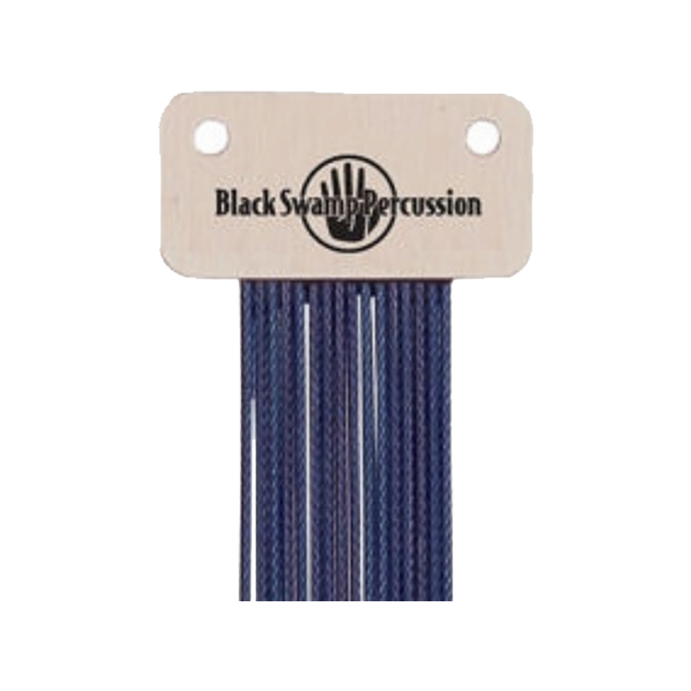 Black Swamp - Wrap Around Style Snare Cables-Percussion Accessories-Black Swamp-Blue Coated Stainless-Music Elements