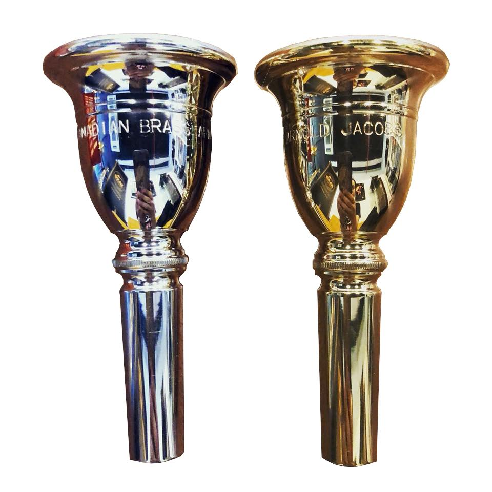 Canadian Brass - Arnold Jacobs Helleberg Tuba Mouthpieces-Mouthpiece-Canadian Brass-Music Elements