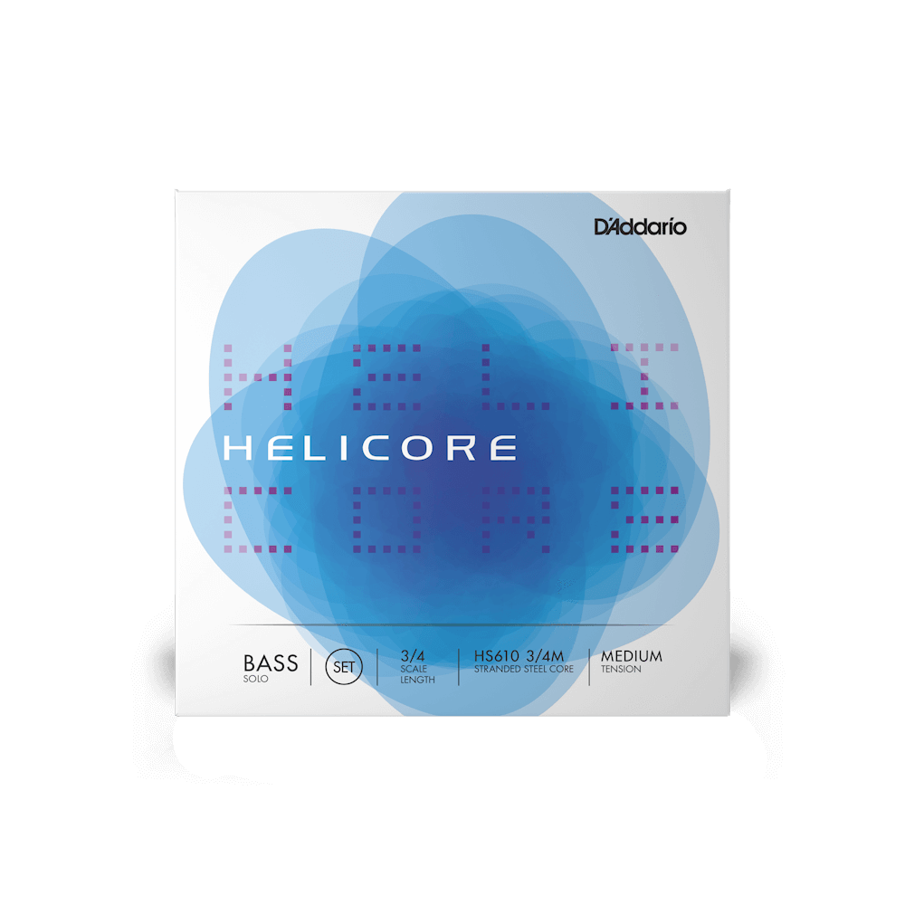 D'Addario - Helicore Solo 3/4 Scale Double Bass String Set-Strings Accessories-D'Addario-Music Elements