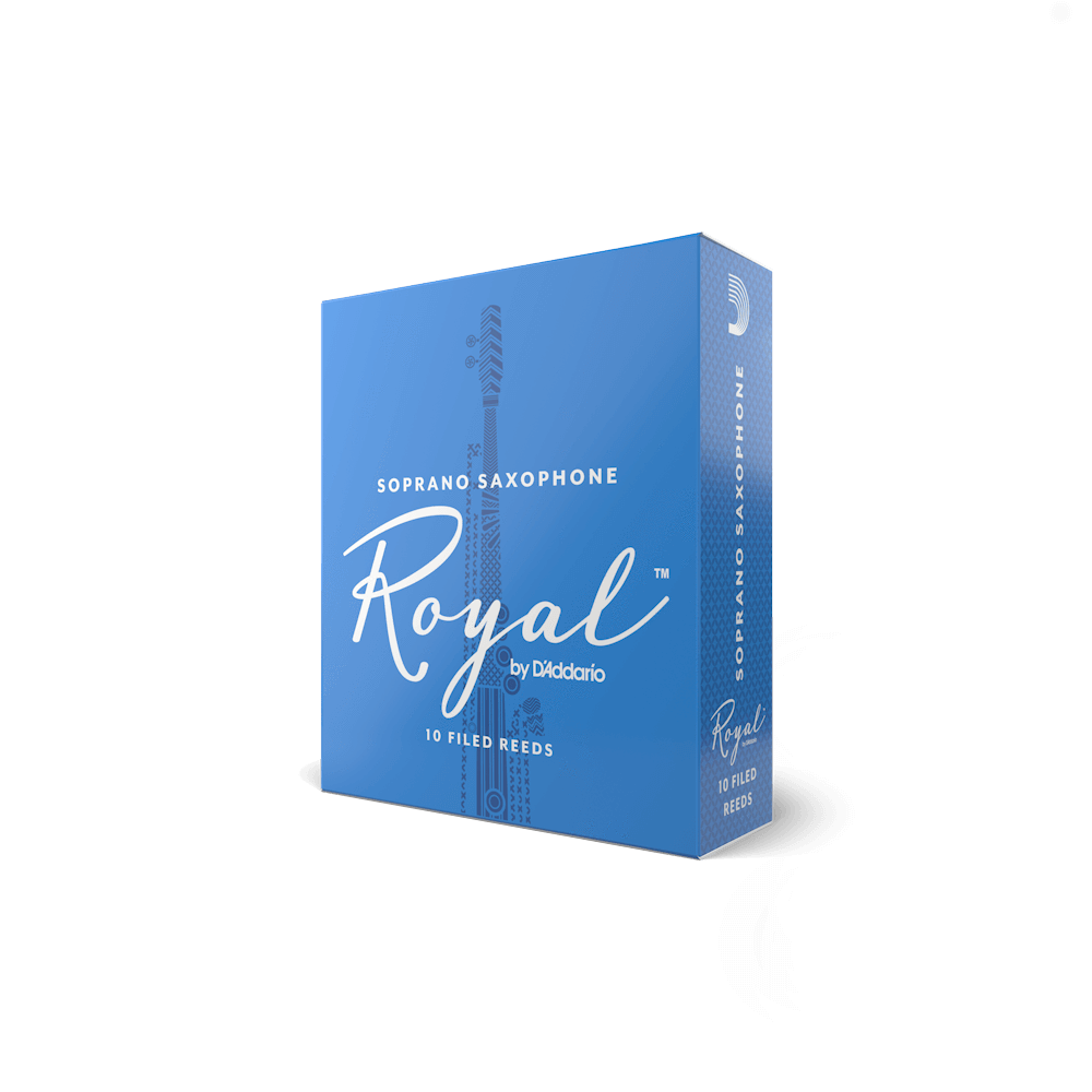 D'Addario - Royal by D'Addario - Soprano Saxophone Reeds-Reed-D'Addario-Music Elements