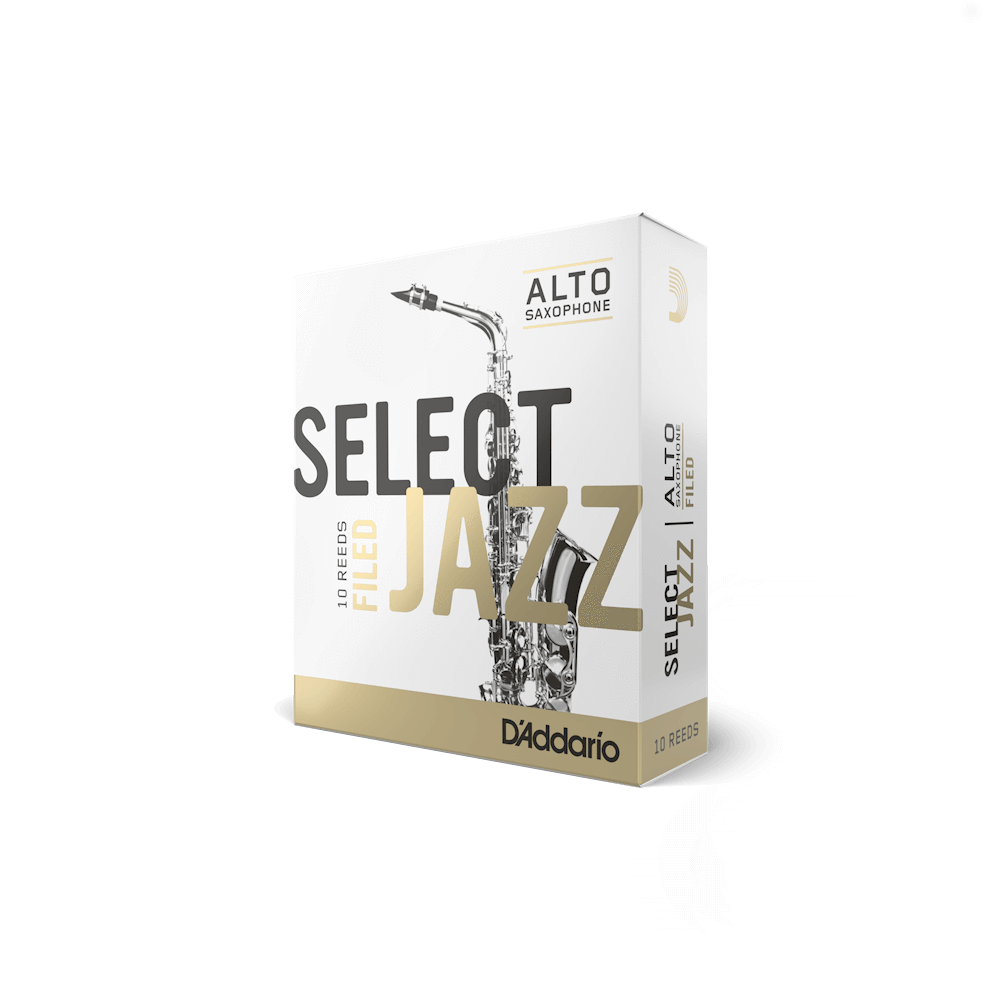 D'Addario - Select Jazz Filed Alto Saxophone Reeds-Reed-D'Addario-Music Elements