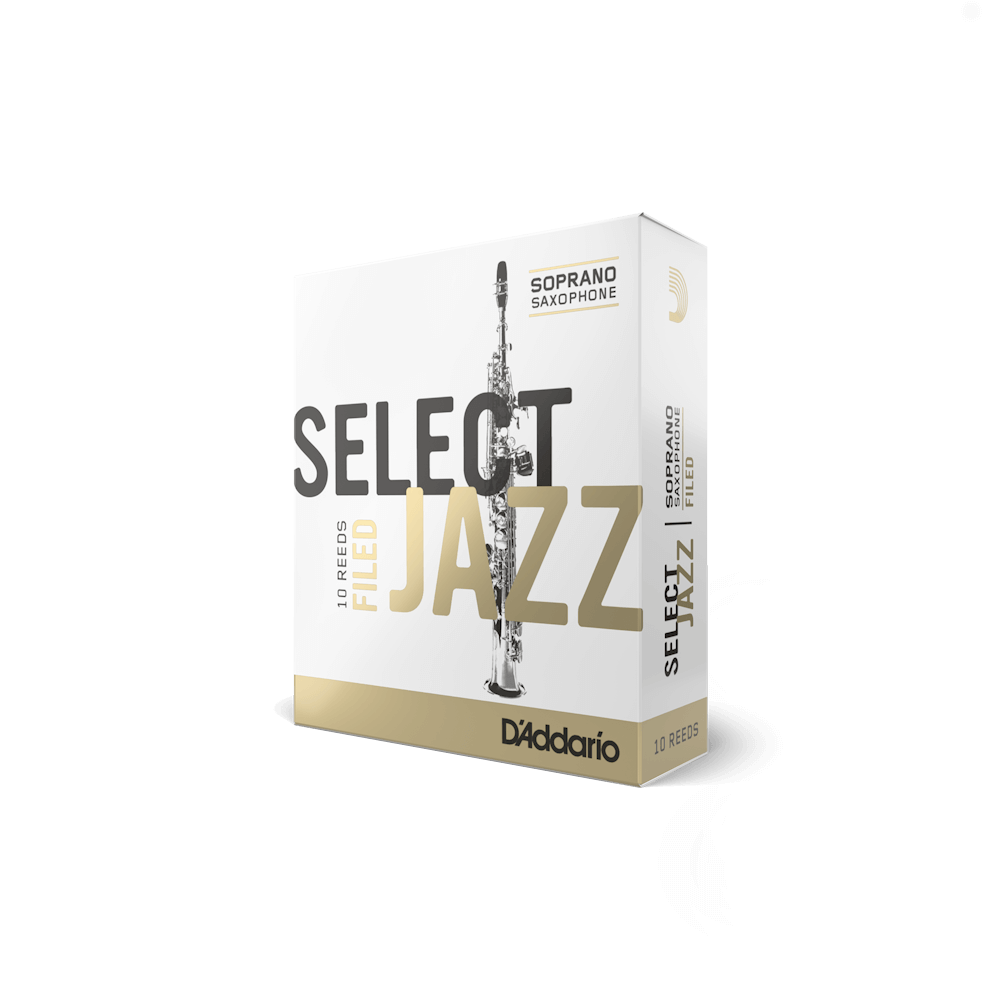 D'Addario - Select Jazz Filed Soprano Saxophone Reeds-Reed-D'Addario-Music Elements