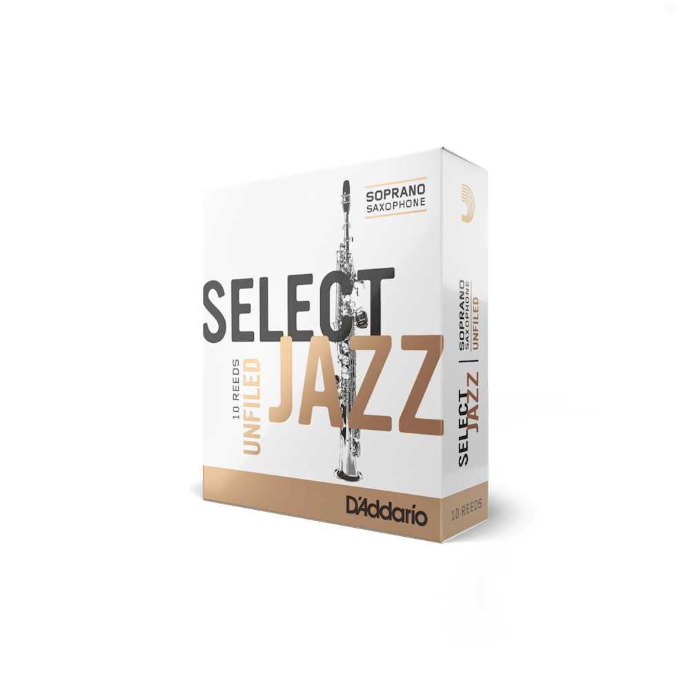D'Addario - Select Jazz Unfiled Soprano Saxophone Reeds-Reed-D'Addario-Music Elements