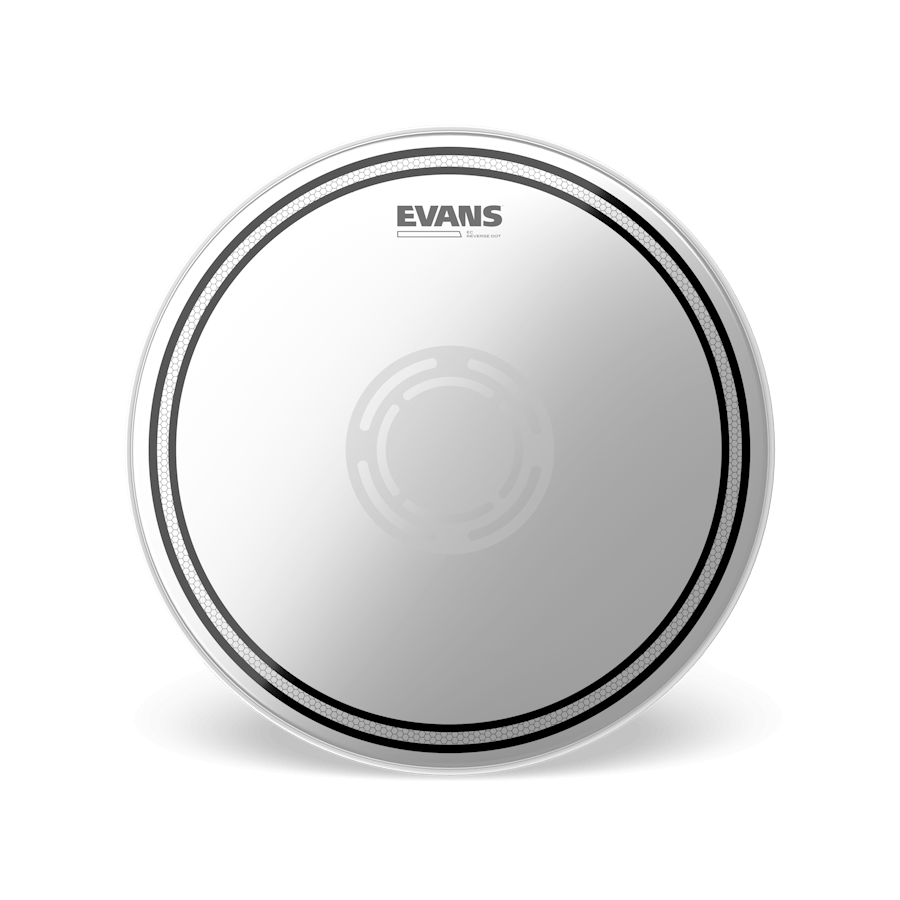 "Evans - EC Reverse Dot 14"" Snare Drum Head-Percussion-Evans-Music Elements"