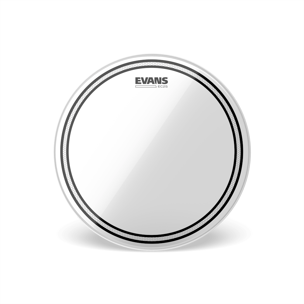 Evans - EC2 Clear Tom Drum Heads