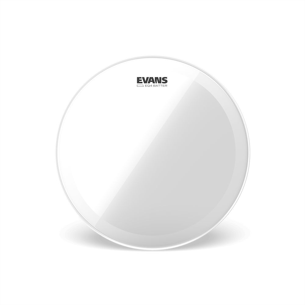 "Evans - EQ4 20"" Clear Batter Bass Drum Head"