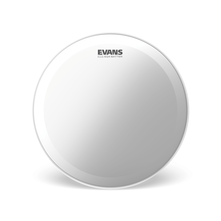 "Evans - EQ4 Frosted Batter 22"" Bass Drum Head-Percussion-Evans-Music Elements"