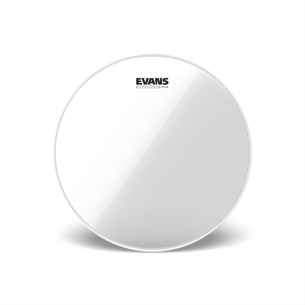 Evans - G14 Clear Drum Heads