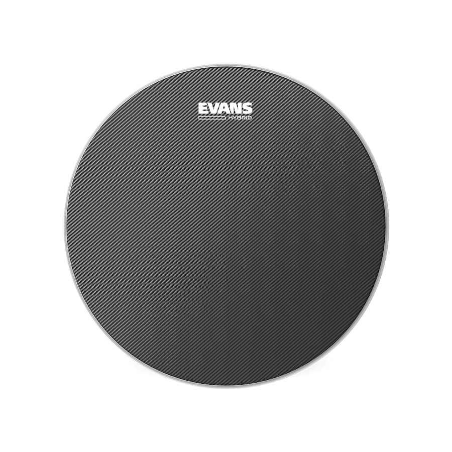 "Evans - Hybrid Grey 14"" Marching Snare Drum Head-Percussion-Evans-Music Elements"