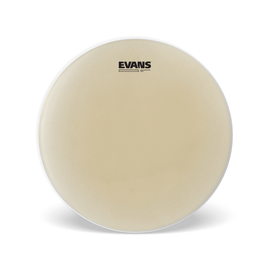"Evans - Orchestral 300 14"" Snare Side Drum Head-Percussion-Evans-Music Elements"