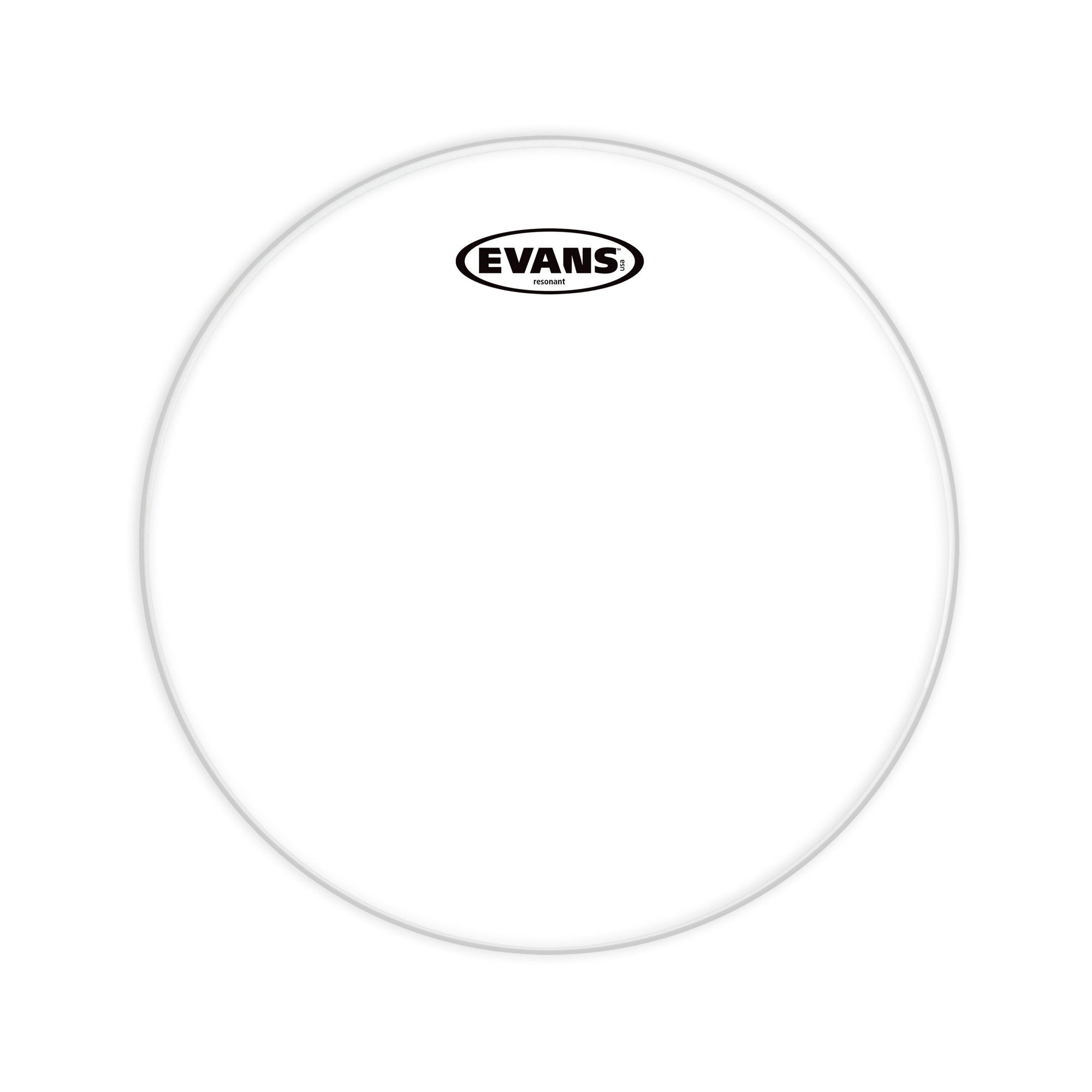 Evans - Resonant Glass Clear Drum Heads