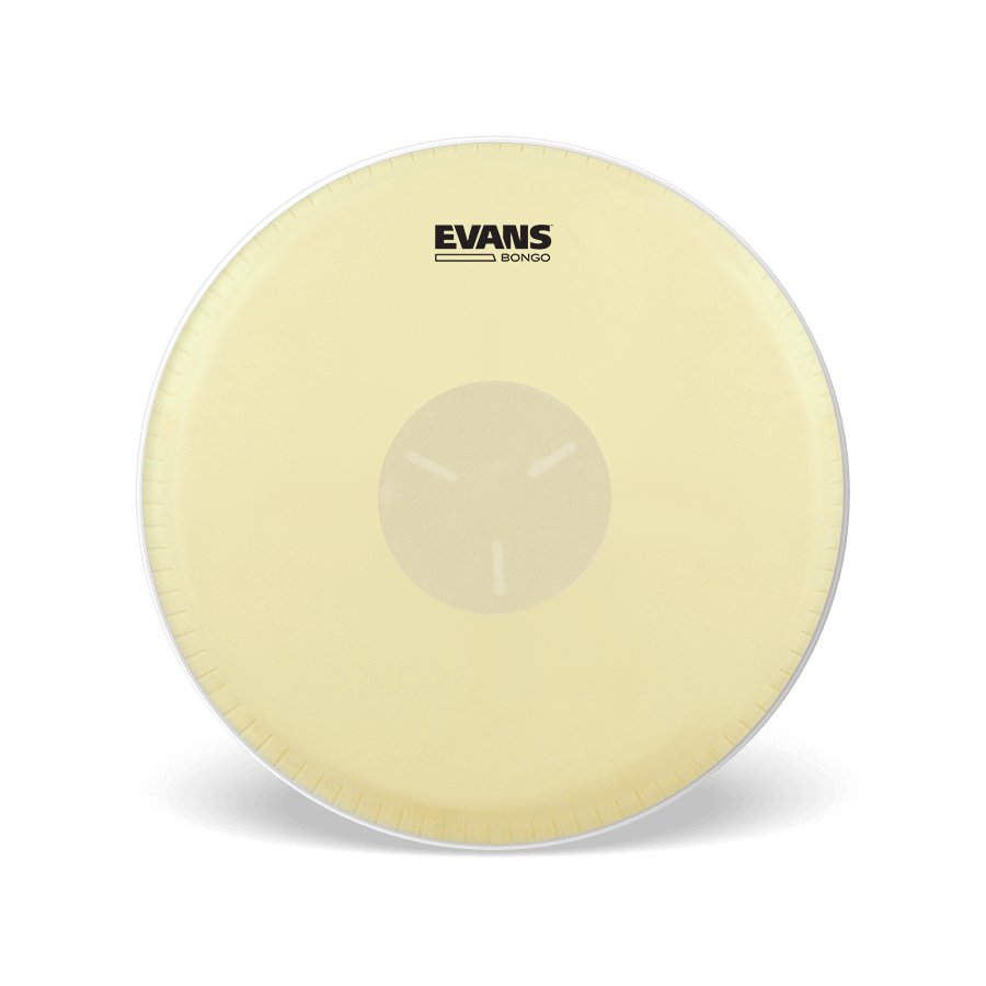 "Evans - Tri-Center Bongo Drum Heads (Pack of 7 1/4"" & 8 5/8"")-Percussion-Evans-Music Elements"