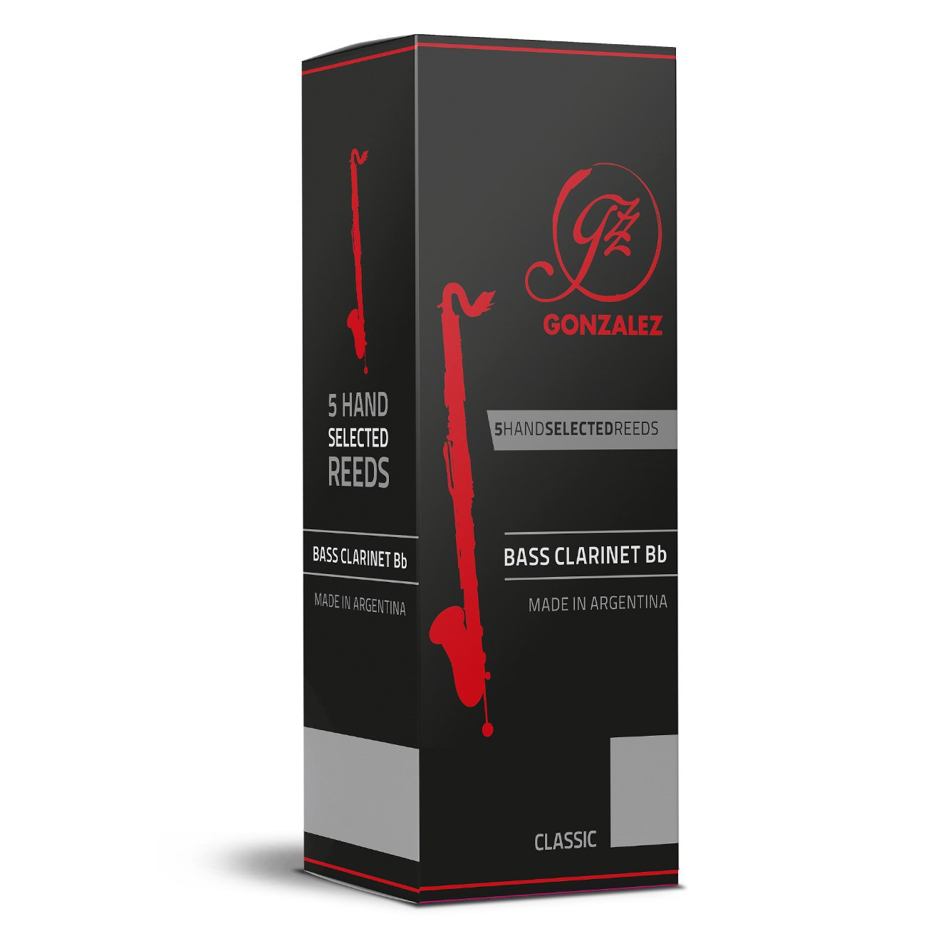 Gonzalez - Classic Bass Clarinet Reeds-Reed-Gonzalez-Music Elements