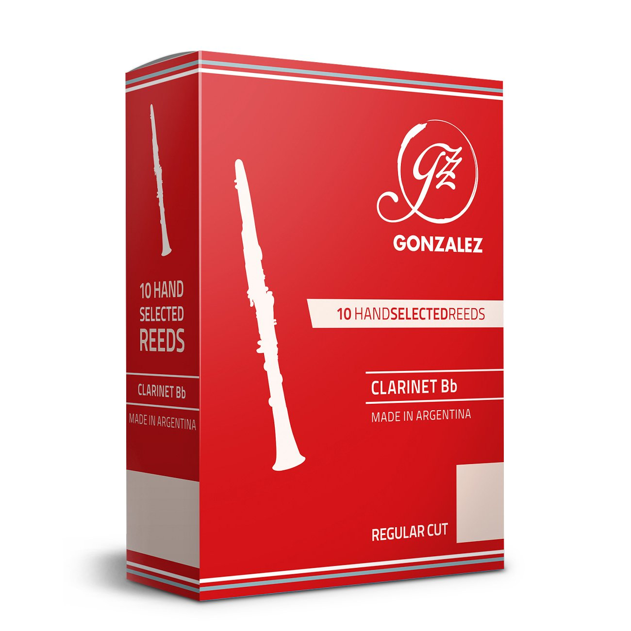 Gonzalez - Regular Cut (RC) Bb/A Clarinet Reeds-Reed-Gonzalez-Music Elements