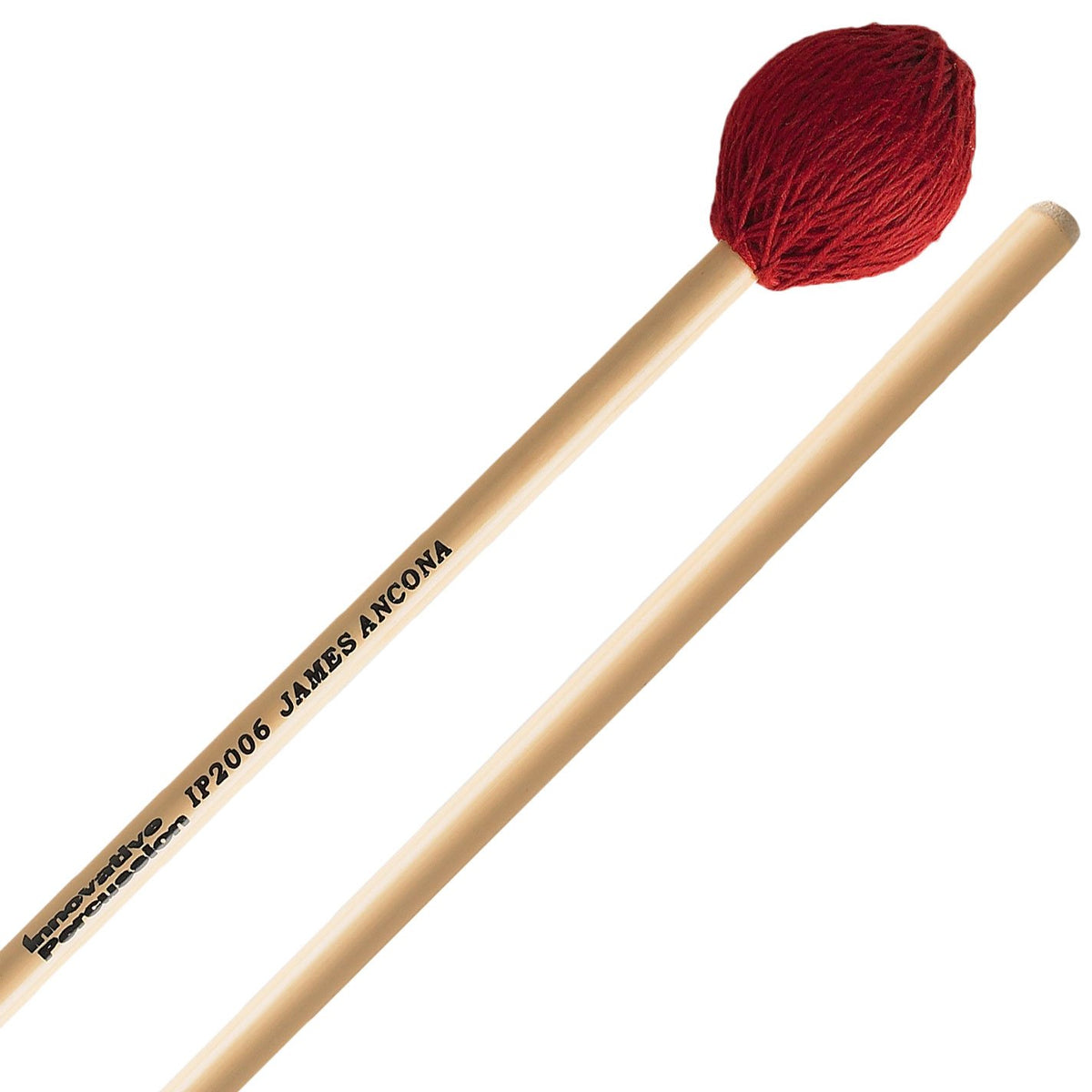 Innovative Percussion - James Ancona Series Marching Marimba/Vibraphone Mallets-Percussion-Innovative Percussion-IP2006: Medium Hard Vibraphone/Marimba-Music Elements