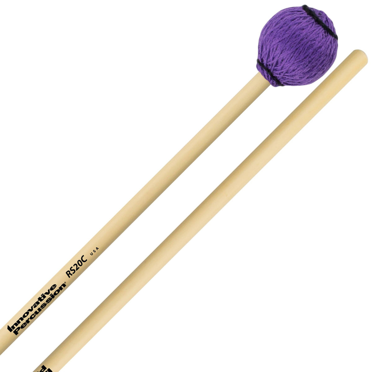 Innovative Percussion - Rattan Series Concert Vibraphone/Marimba Mallets-Percussion-Innovative Percussion-RS20C Medium-Music Elements