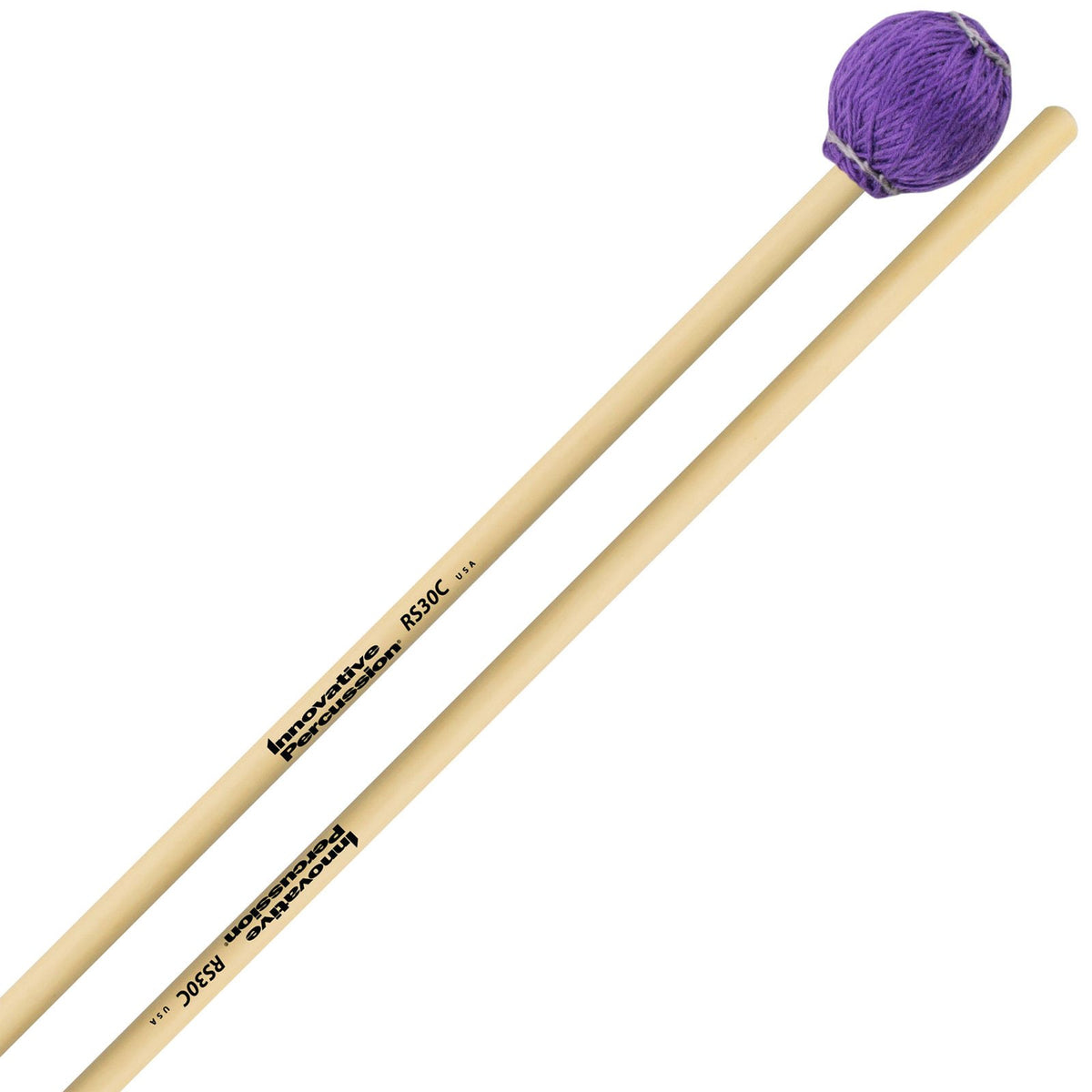 Innovative Percussion - Rattan Series Concert Vibraphone/Marimba Mallets-Percussion-Innovative Percussion-RS30C Medium Hard-Music Elements