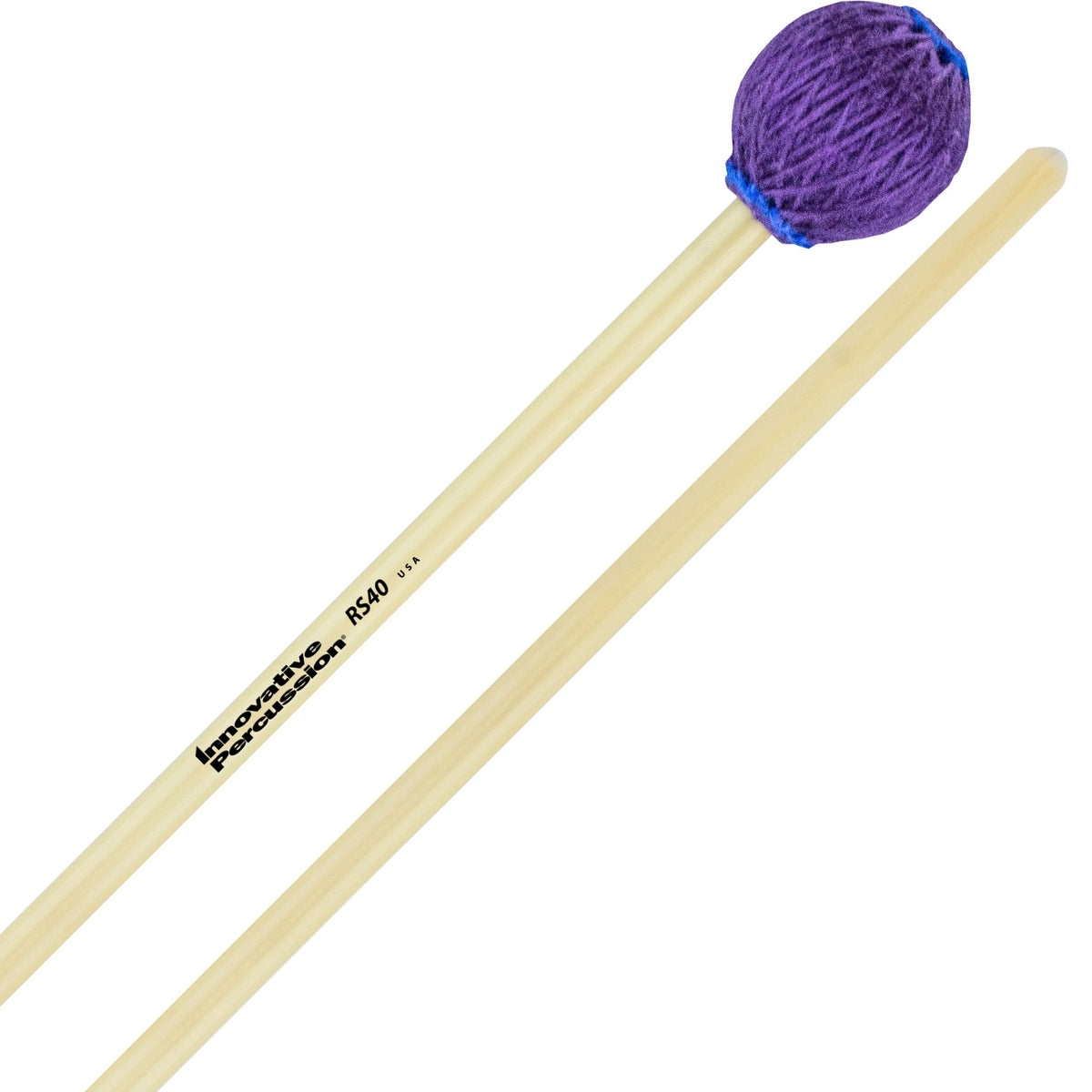 Innovative Percussion - Rattan Series Concert Vibraphone/Marimba Mallets-Percussion-Innovative Percussion-RS40 Hard-Music Elements