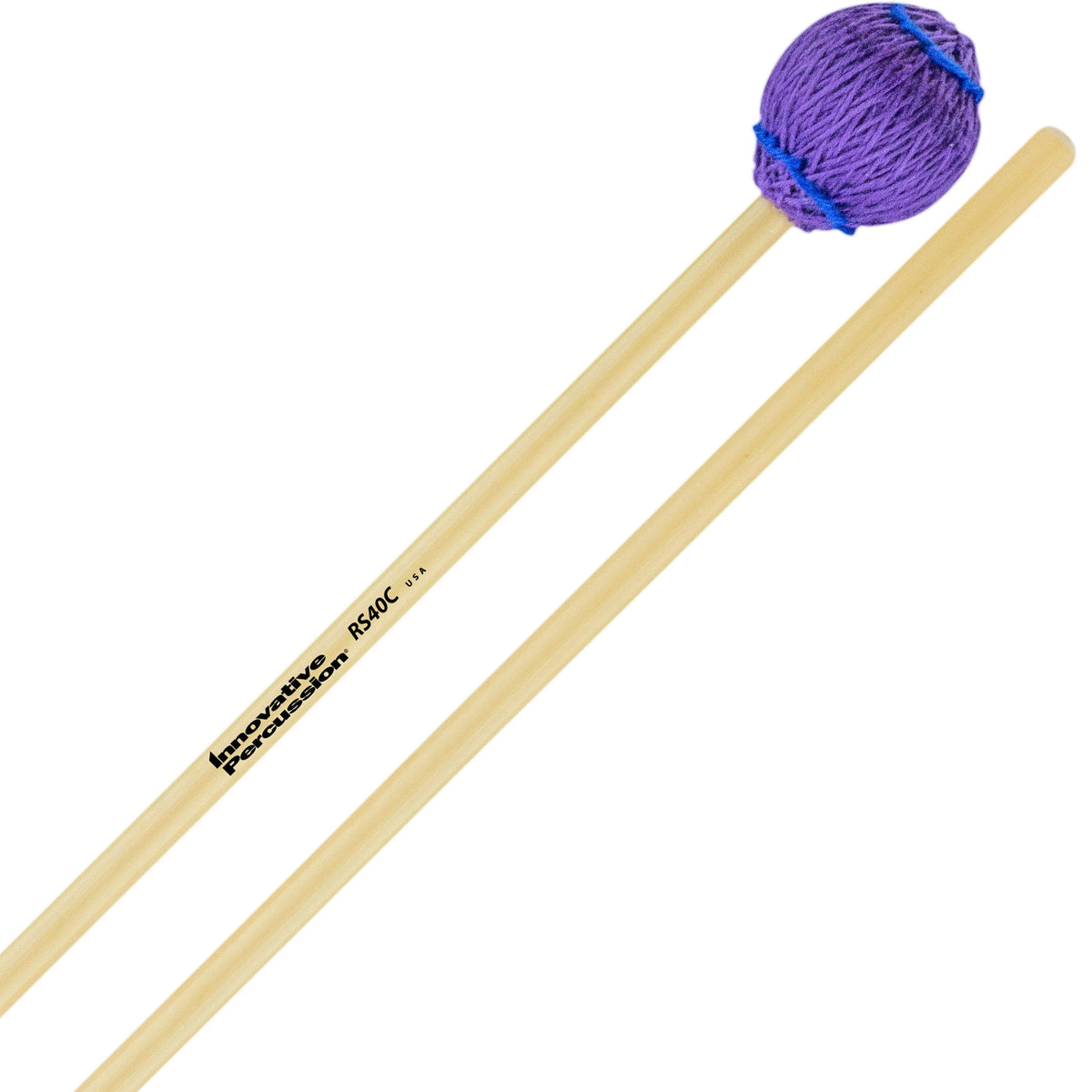 Innovative Percussion - Rattan Series Concert Vibraphone/Marimba Mallets-Percussion-Innovative Percussion-RS40C Hard-Music Elements