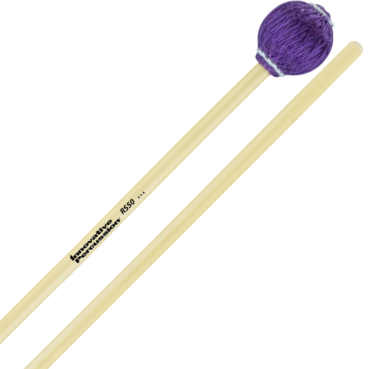 Innovative Percussion - Rattan Series Concert Vibraphone/Marimba Mallets-Percussion-Innovative Percussion-RS50 Very Hard-Music Elements