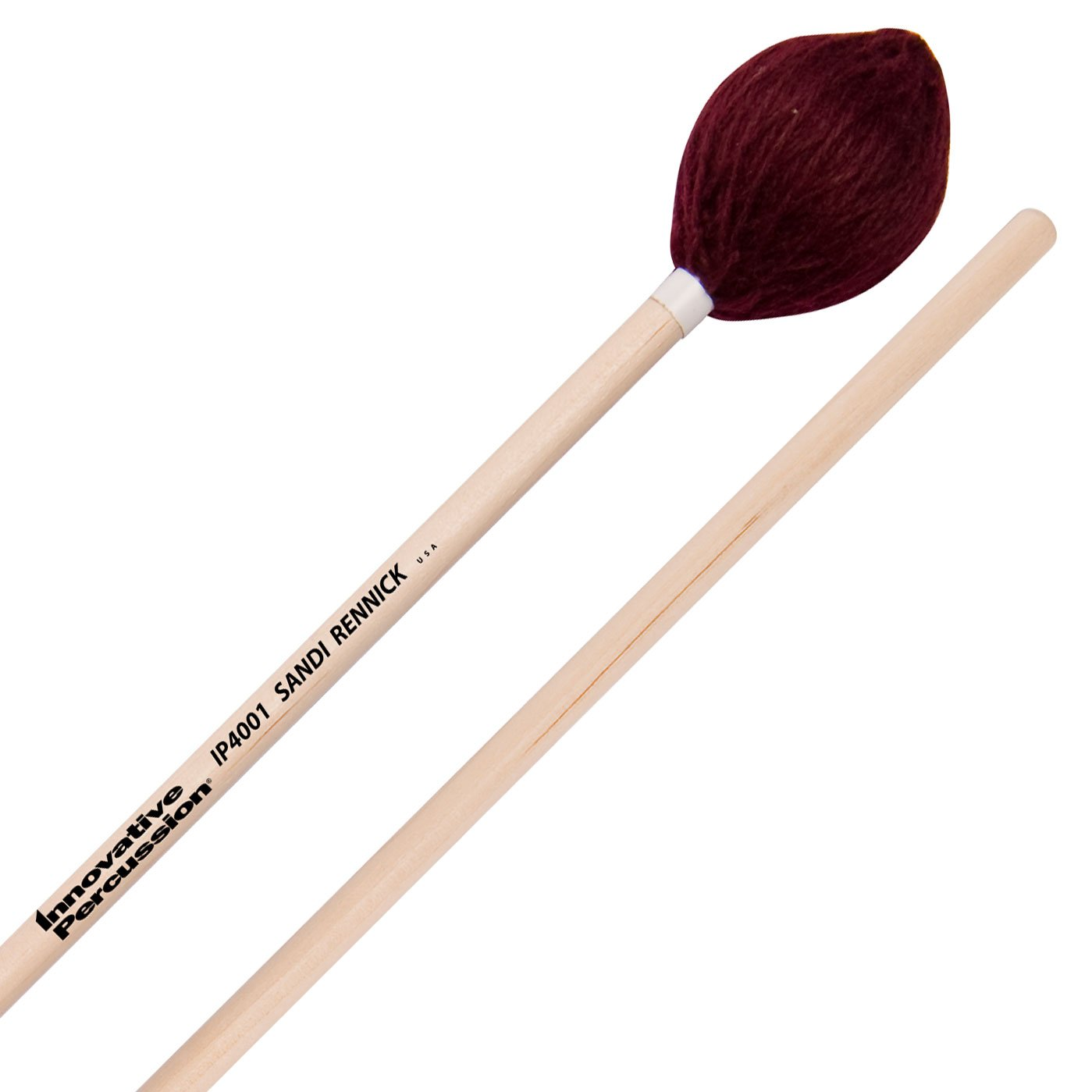 Innovative Percussion - Sandi Rennick Series Marching Marimba/Xylophone/Vibraphone Mallets-Percussion-Innovative Percussion-IP4001: Soft Marimba-Music Elements