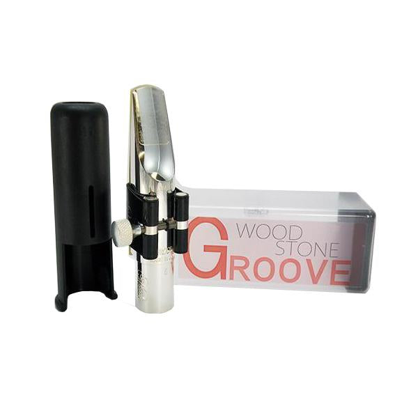 Ishimori WoodStone - Metal/AM-2 Groove Mouthpieces for Alto Saxophone-Saxophone-Ishimori WoodStone-Music Elements