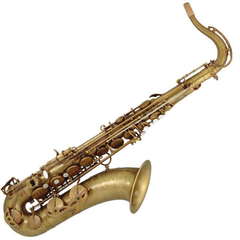 "Ishimori WoodStone - ""New Vintage"" Tenor Saxophones-Saxophone-Ishimori WoodStone-Antique Finish (No Lacquer)-Music Elements"