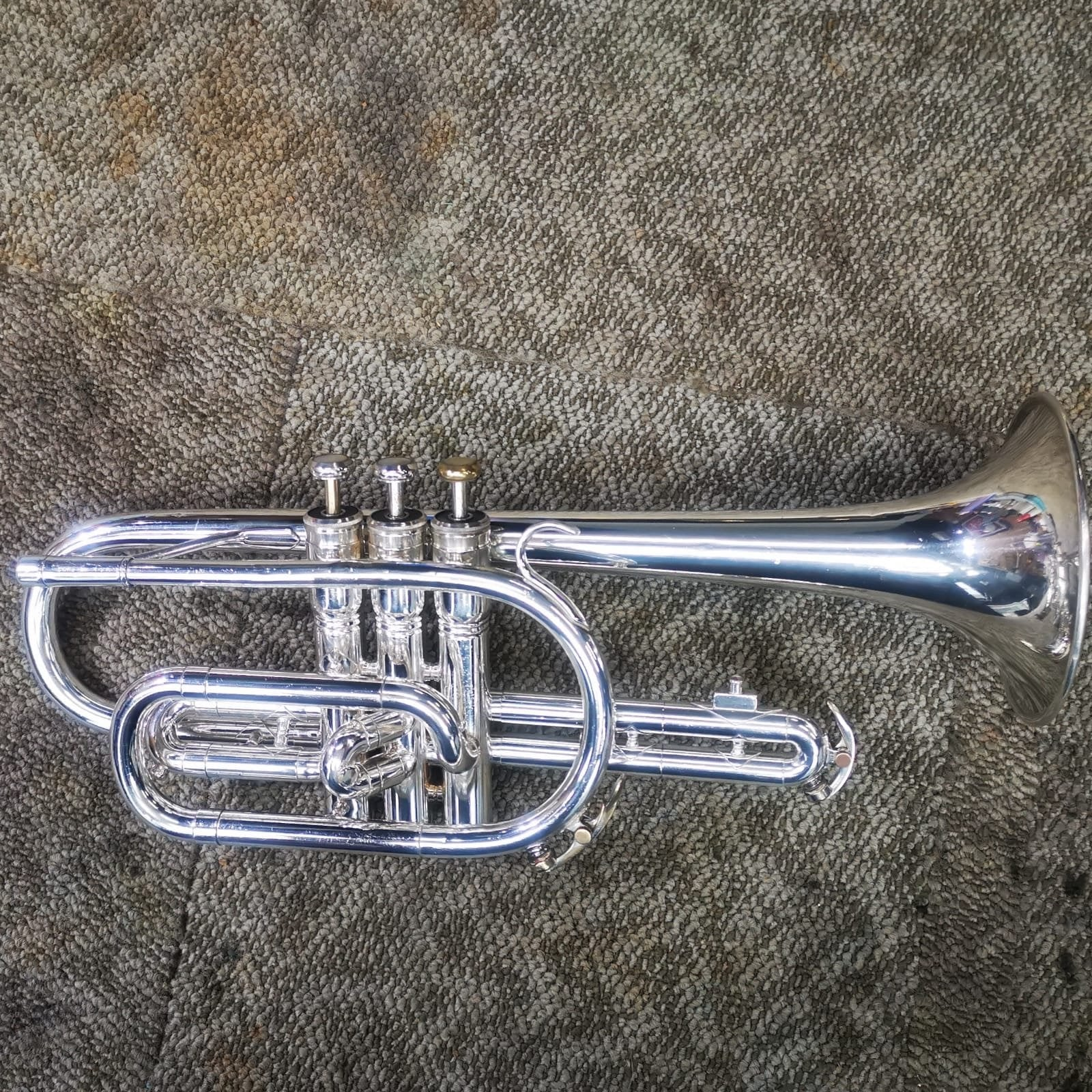 King - Tempo 602 Bb Cornet (Pre-Owned)-Cornet-King-Music Elements
