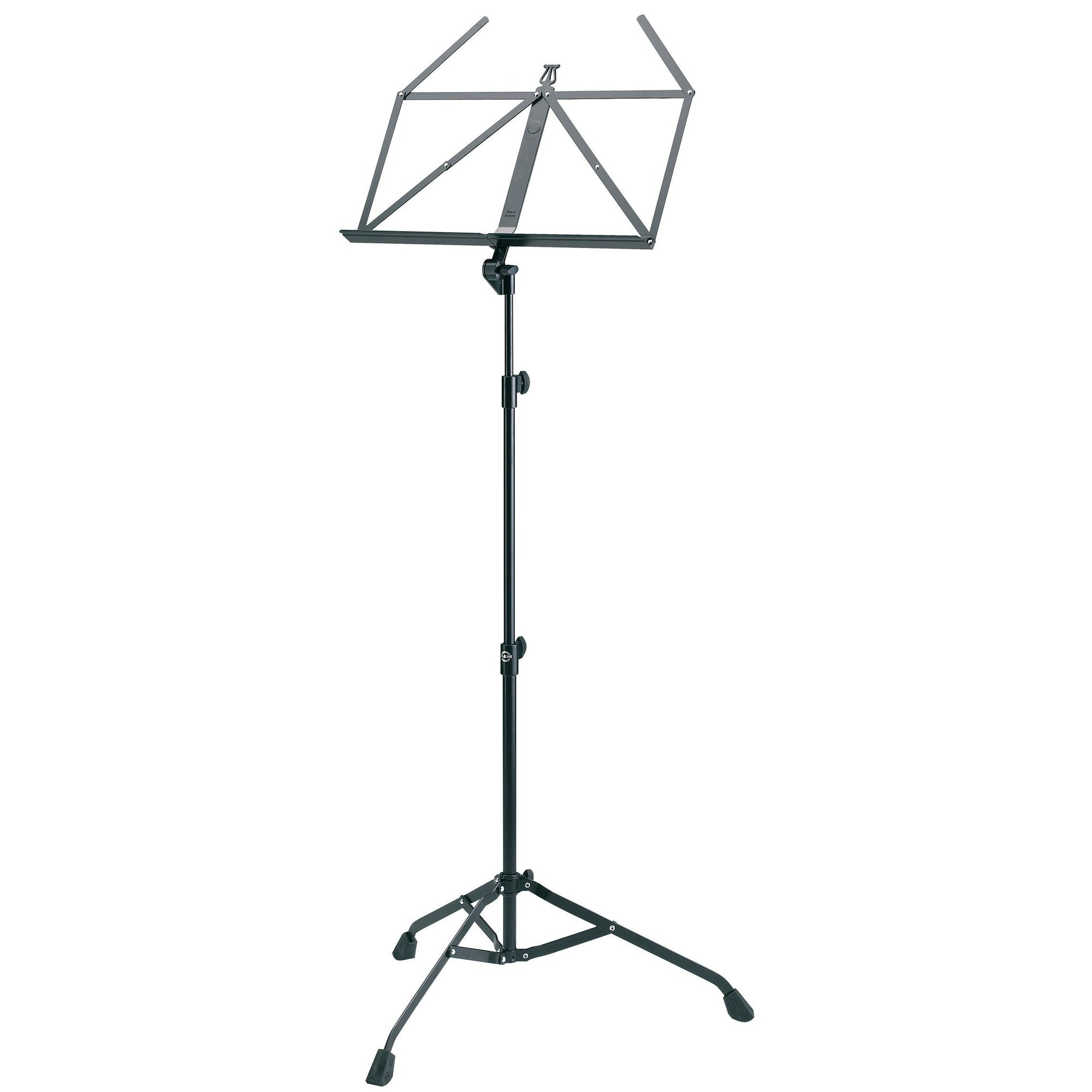 König & Meyer - 107 Starline Music Stands with Collapsible Desk-Music Stand-König & Meyer-Black-Music Elements