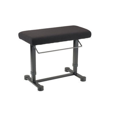 König & Meyer - 14080/14081 <Uplift> Piano Benches-Instrument Stand-König & Meyer-Black Fabric (14081)-Music Elements
