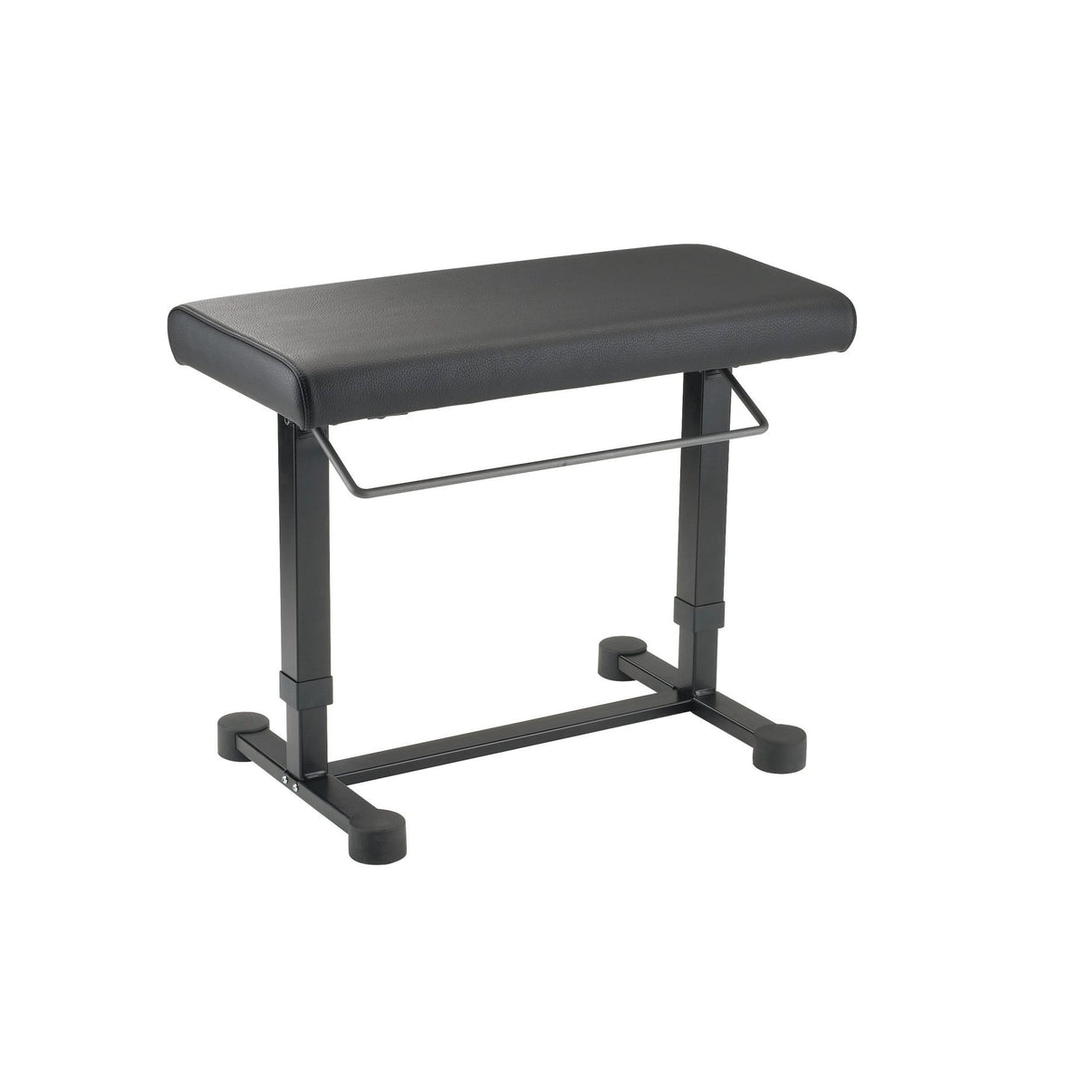 König & Meyer - 14080/14081 <Uplift> Piano Benches-Instrument Stand-König & Meyer-Black Imitation Leather (14080)-Music Elements