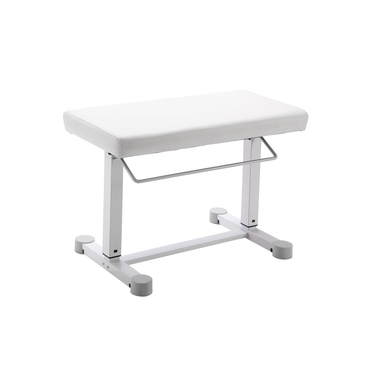 König & Meyer - 14080/14081 <Uplift> Piano Benches-Instrument Stand-König & Meyer-White Imitation Leather (14080)-Music Elements