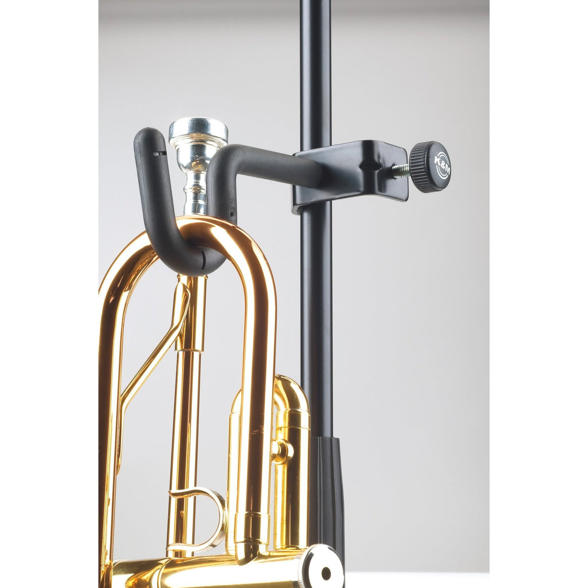 König & Meyer - 157 Trumpet Holder (Attachable to Music Stands)-Instrument Stand-König & Meyer-Music Elements