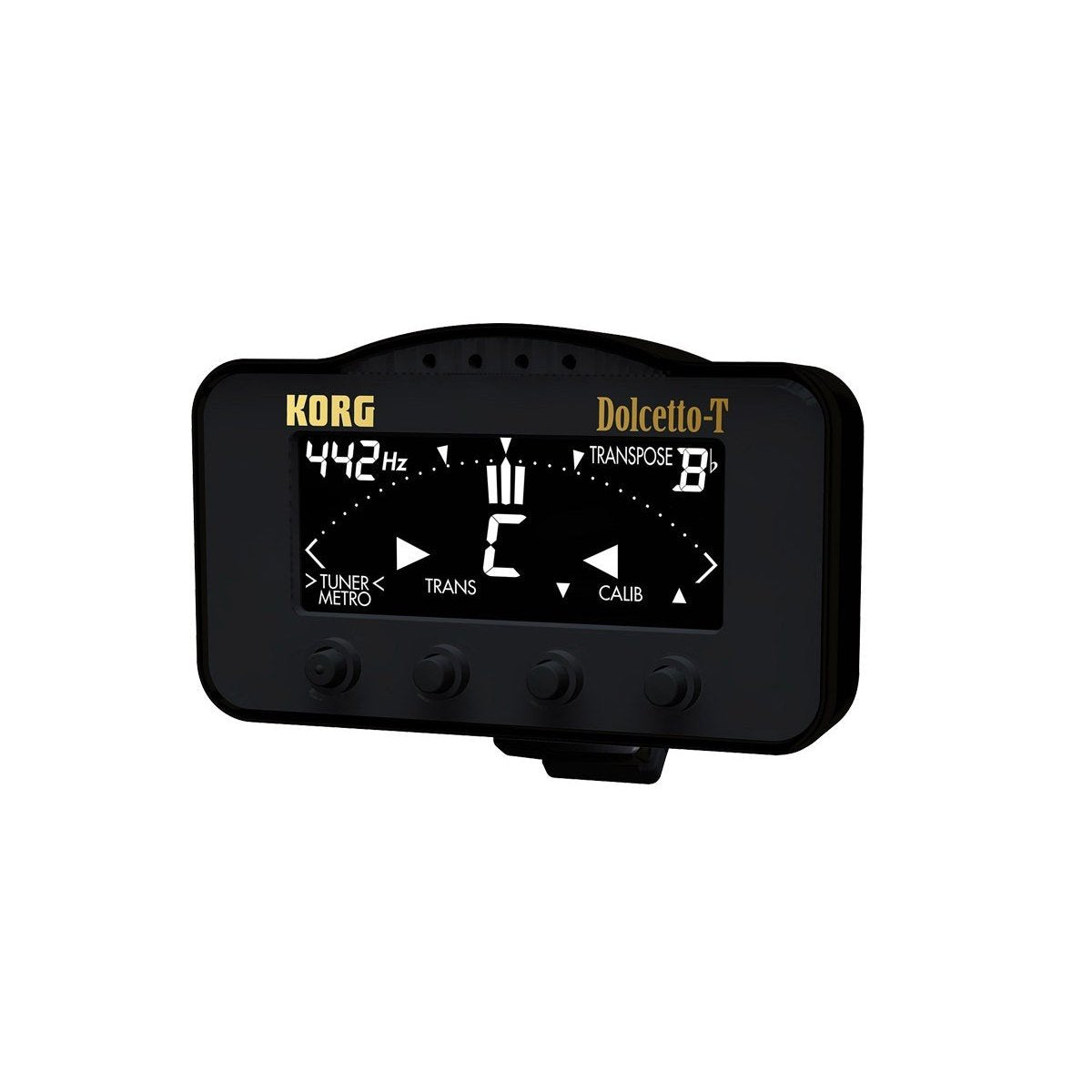 Korg - AW-3T Dolcetto-T Clip-On Tuner/Metronome-Tuner & Metronome-Korg-Music Elements