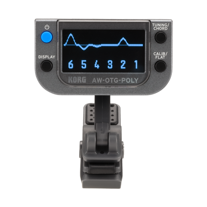 Korg - AW-OTG-POLY Clip-On Tuner