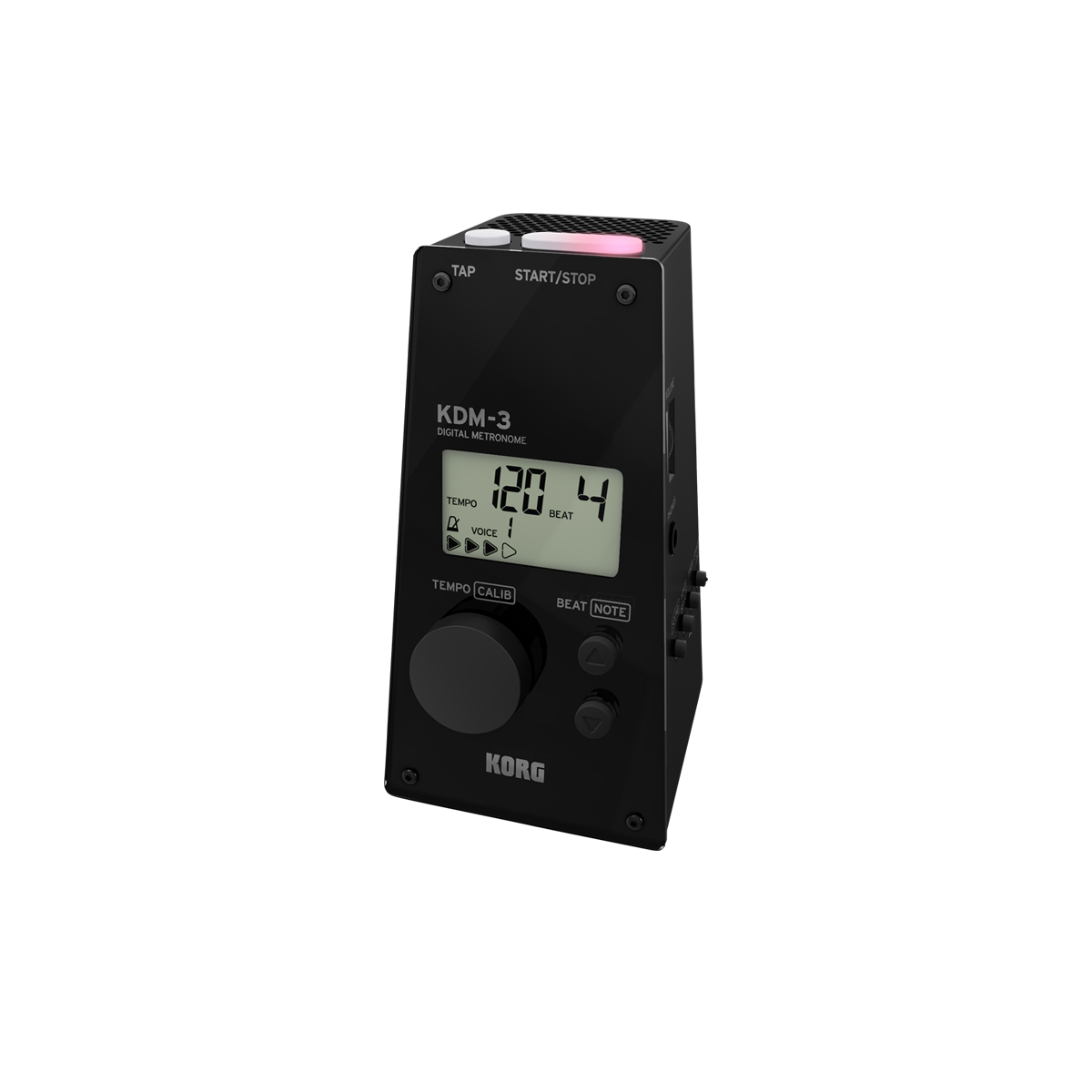 Korg - KDM-3 Digital Metronomes-Tuner & Metronome-Korg-Black-Music Elements